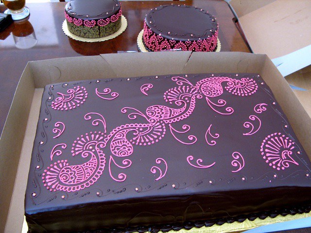 Mehndi Cake For Wedding Big This Was My Very First Ever C Flickr