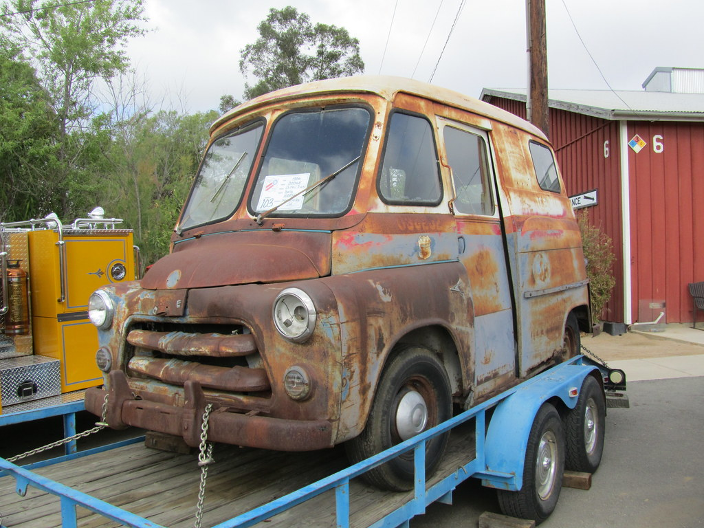 Dodge us mail truck 1956 antique truck show 2010 flickr