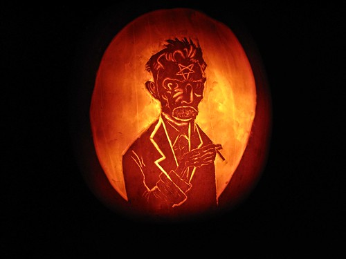 Wormwood-O-Lantern | by Ben Templesmith