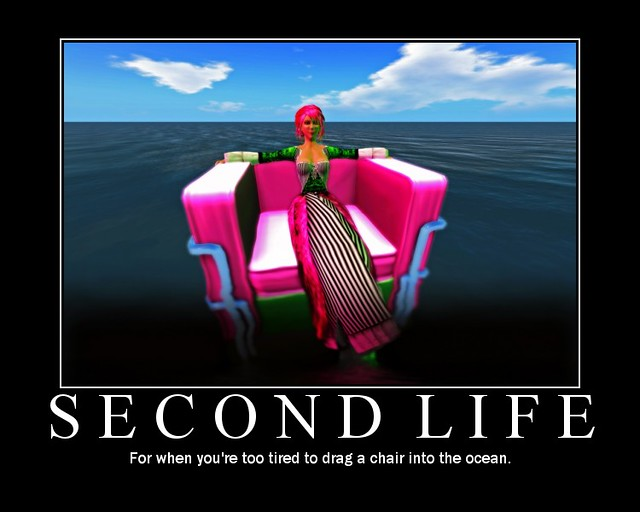 Second Life: For when you're too tired to drag a chair int ...