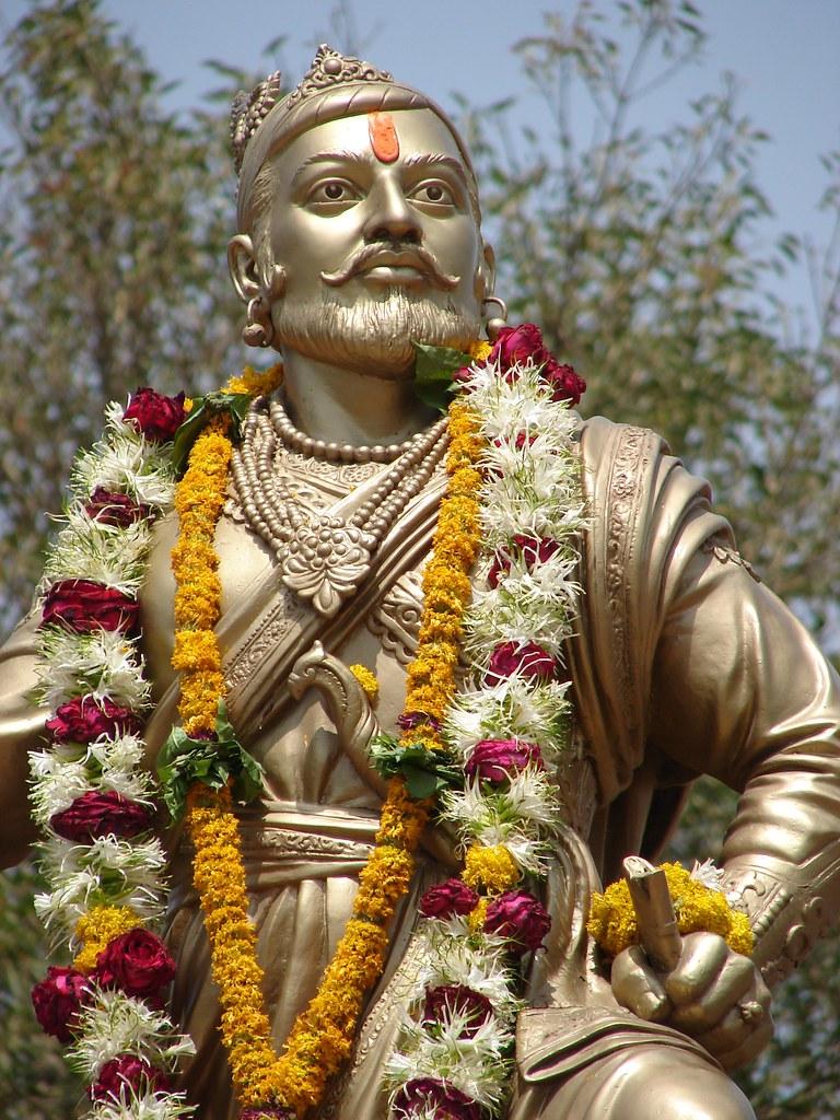 sambhaji maharaj wadhu statue of great sambhaji maharaj in flickr