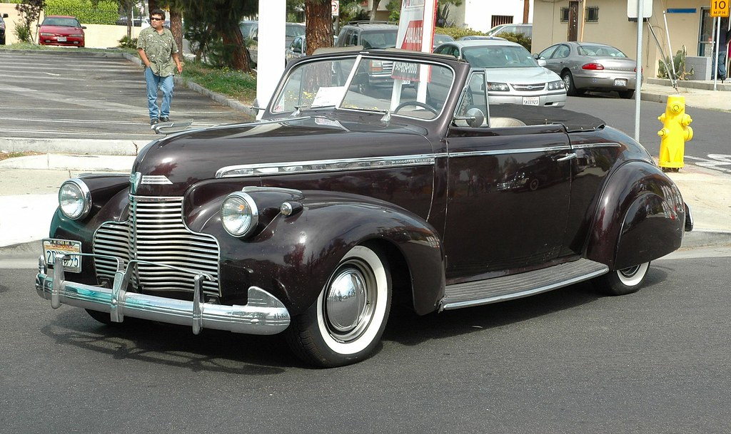 1940 Chevy Truck >> 1940 Chevrolet Convertible | howard gribble | Flickr