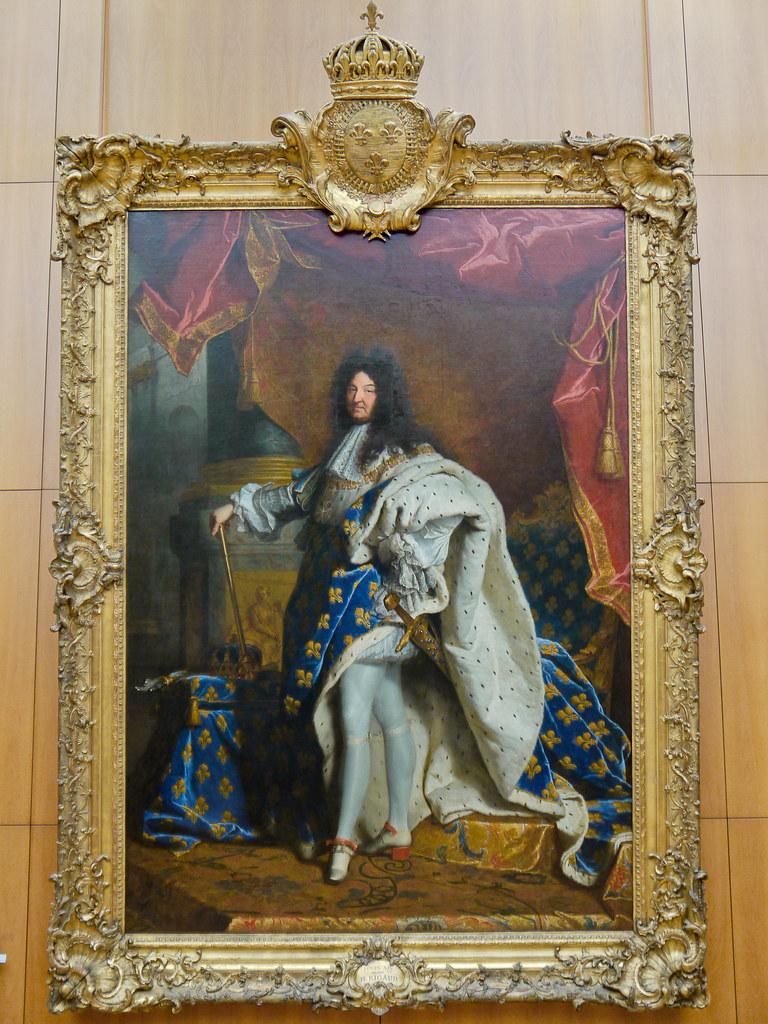Louis XIV (Hyacinthe RIGAUD) - Musée du Louvre - Paris   Flickr