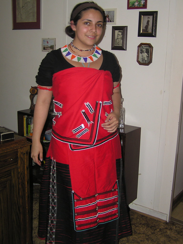 Xhosa Dress Mandy Pinty S Mother Insisted On Dressing