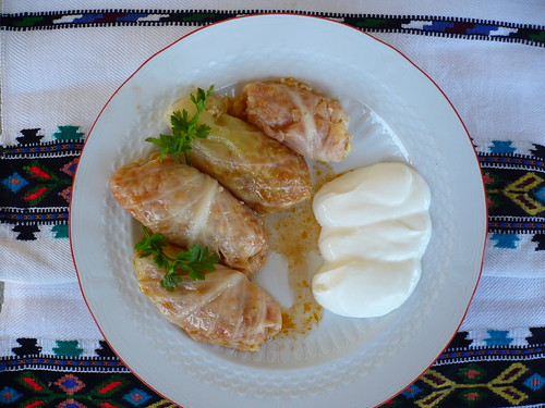 traditional romanian food: sarmale | Flickr - Photo Sharing!