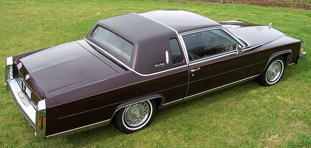 1985 Cadillac Fleetwood Brougham Coupe  About 8000 madeKi  Flickr