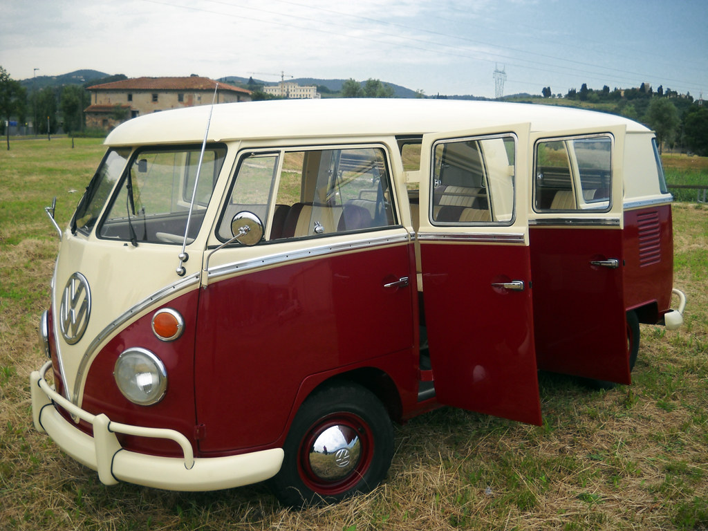 very rare vw t1 kombi bus 6 doors taxi new restoration. Black Bedroom Furniture Sets. Home Design Ideas