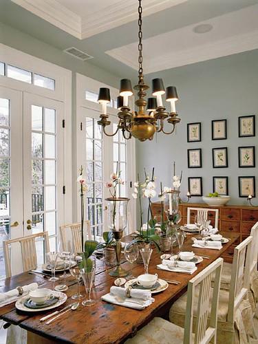 Dining Table Via Coastal Living Suzie Flickr   Coastal Living Dining Room  Ideas Awesome Design