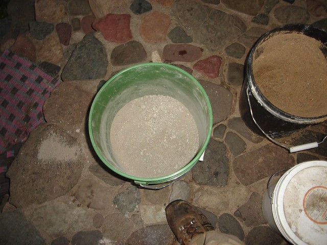 Concrete Mix In Clay : Dsc mix cement sand clay portland