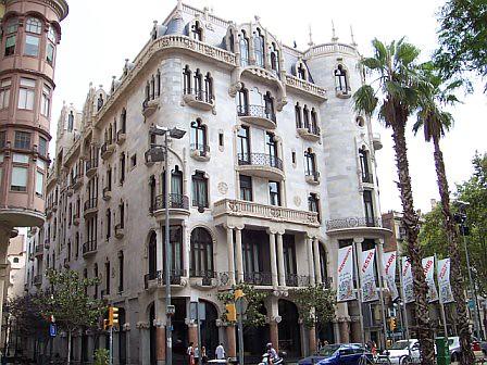 barcelona buildings beautiful building in barcelona trudi lehnhardt flickr. Black Bedroom Furniture Sets. Home Design Ideas