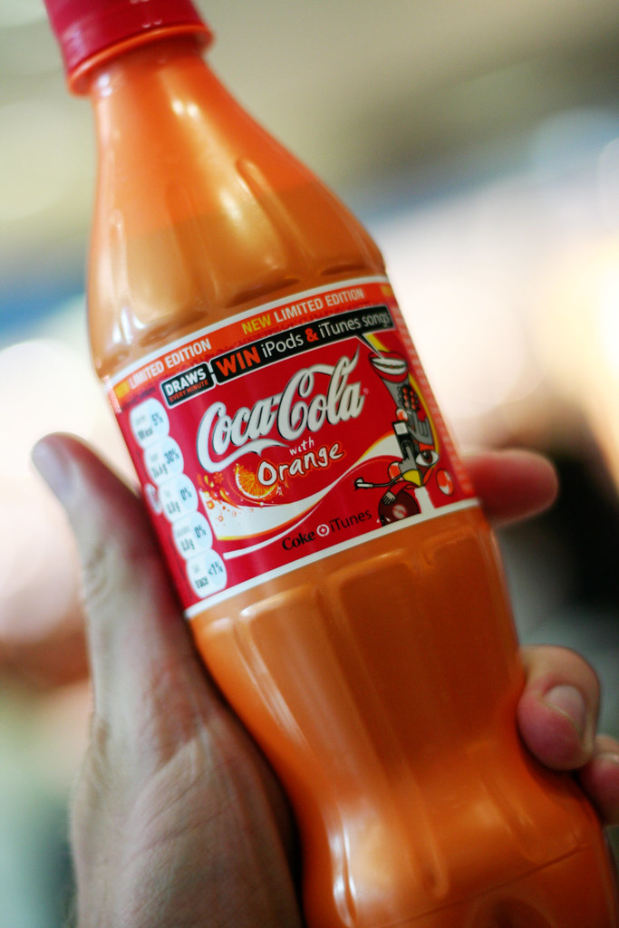 Orange Coke Is Not Good Found This In The London