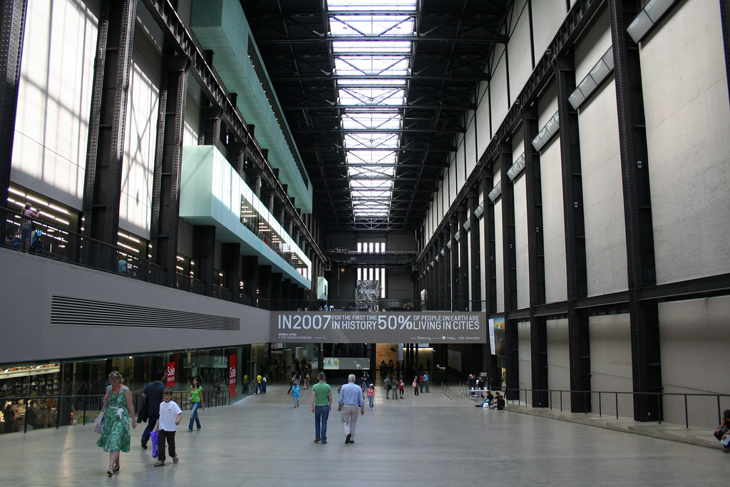 Turbine Hall From West Entrance Tate Modern London Flickr