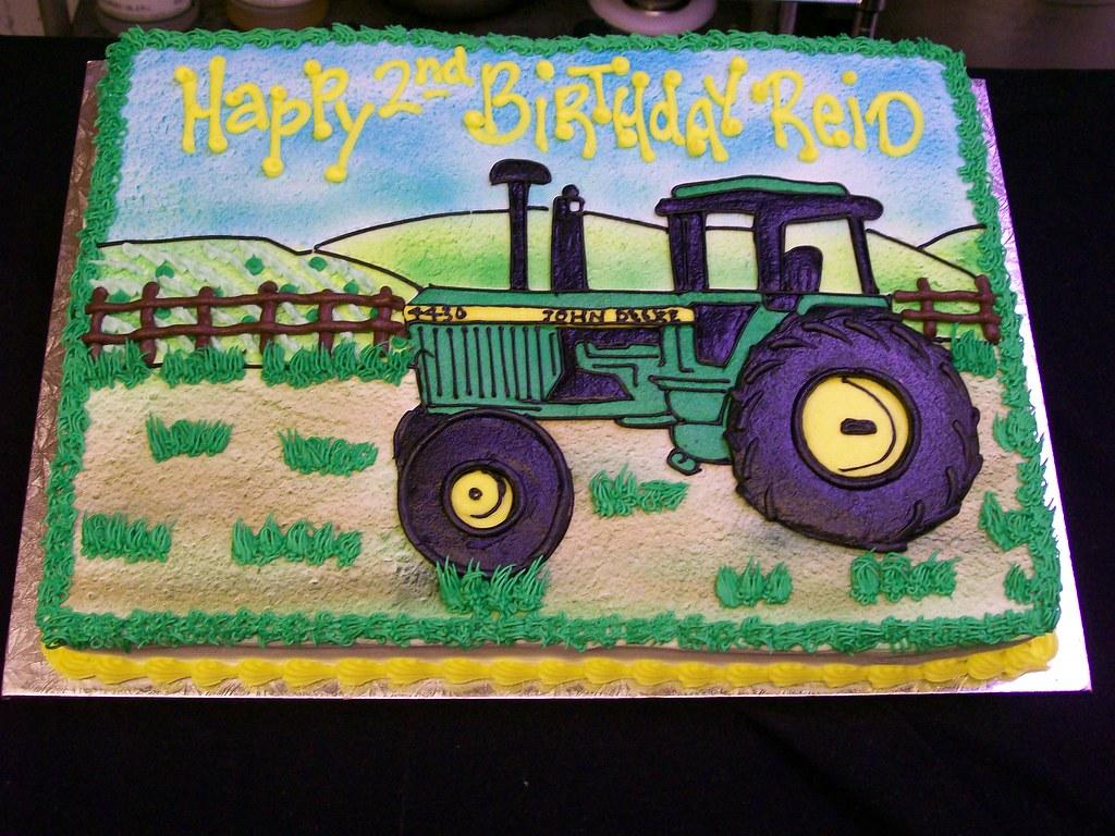 John Deere Tractor Cake Tractor Cake Robert Flickr