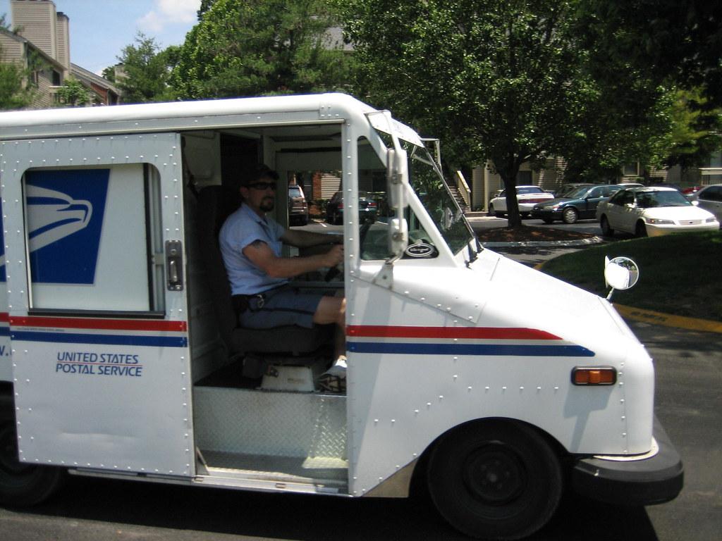 mail truck nyenyec flickr. Black Bedroom Furniture Sets. Home Design Ideas