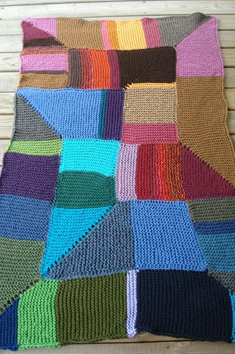 Garter Stitch Blanket Finished | by MandyPowers