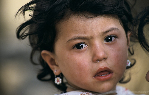 Portrait of child. Uzbekistan | by World Bank Photo Collection