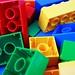 Colourful bricks