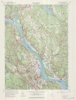 Deep River Quadrangle 1971 - USGS Topographic 1:24,000 | by uconnlibrariesmagic