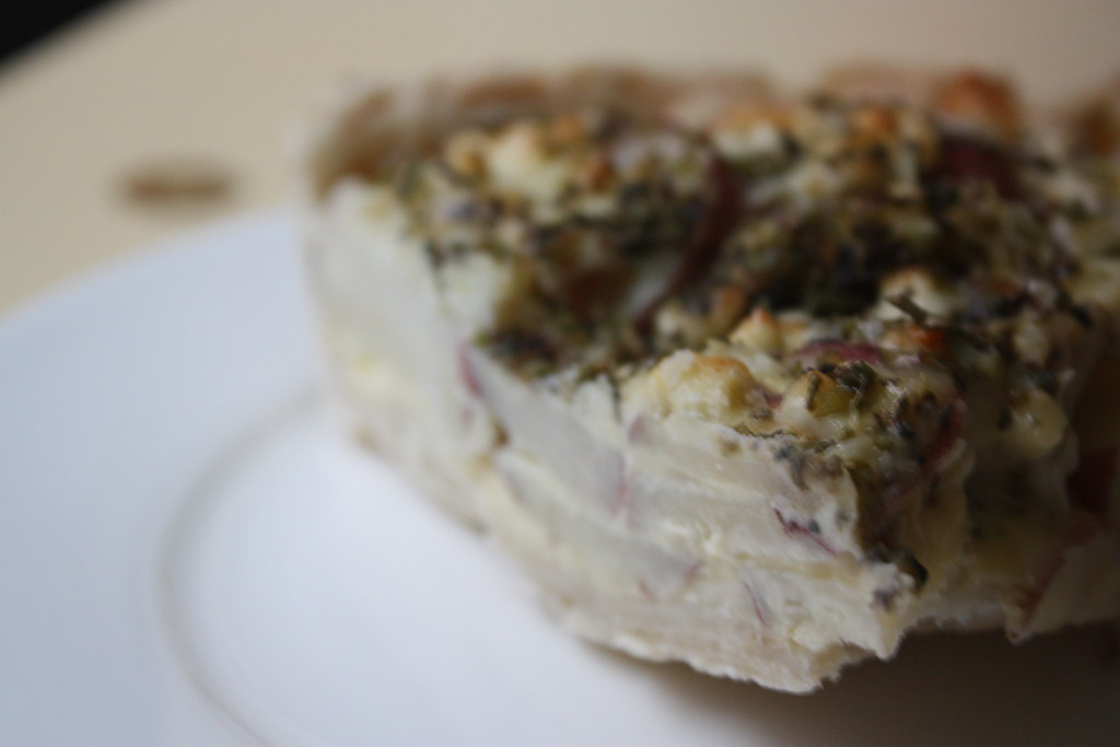 Blue Cheese and Red Potato Tart | Oh.man. This is good ...