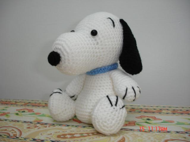 Amigurumi Patterns Snoopy : Snoopy-DSC00639 happyfeet-emily Flickr