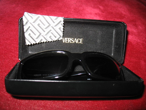 Versace Frames  Lenscrafter Cars Eye Beige Tan