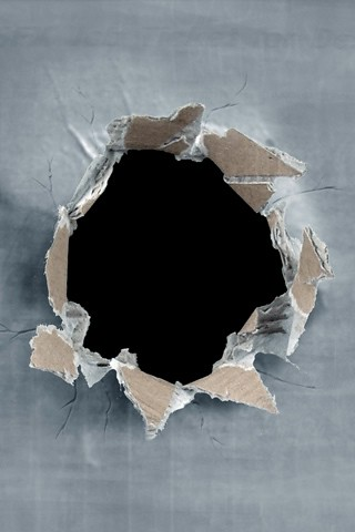 ragged cardboard Hole | iPhone wallpaper, share and enjoy ...