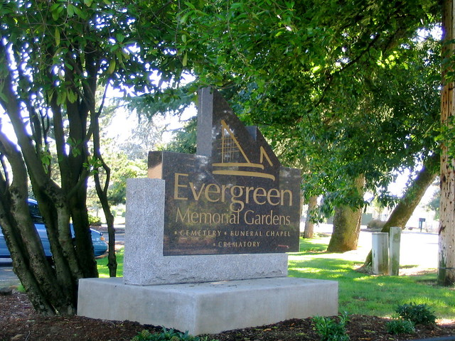 ... Evergreen Memorial Gardens   Vancouver, Wa | By DeadManTalking