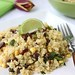 Quinoa with Black Beans, Corn & Chipotle Pepper, Lime & Honey Dressing Recipe
