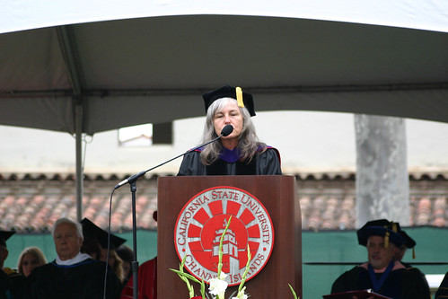 Roberta Achtenberg speaking at Commencement | by California State University Channel Islands