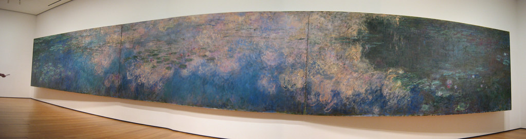 Nyc Moma Claude Monet S Reflections Of Clouds On The Wa