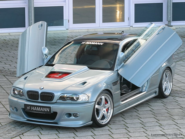 Bmw Wit Butterfly Doors Crystal Aquino Flickr