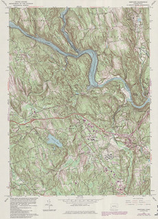 Newtown Quadrangle 1984 - USGS Topographic Map 1:24,000 | by uconnlibrariesmagic