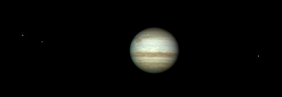 jupiter and its moons with white back - photo #26