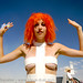 """DSC00651 - burning man 2007 - Leeloo Dallas """"MultiPass!"""" from The 5th Element"""