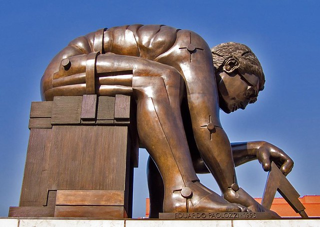 Newton After Blake By Eduardo Paolozzi British Library