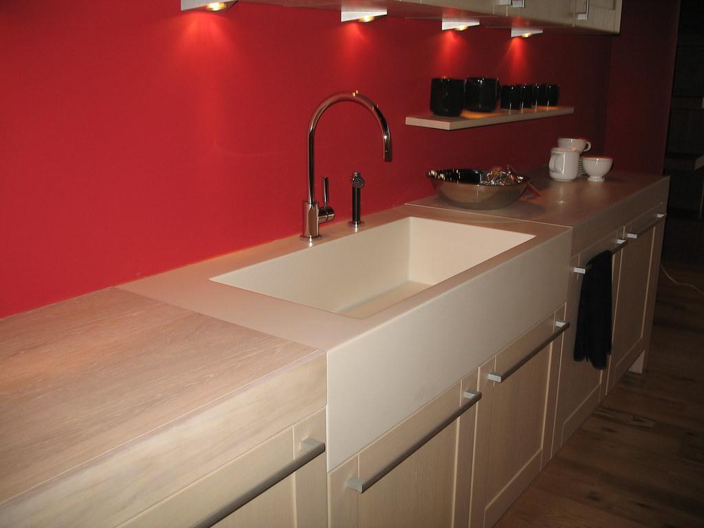 High Quality Corian Sink | Custom Corian Apron Front Sink.  Www.sterlingsuu2026 | Flickr