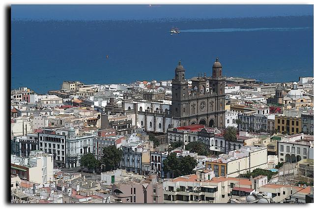 La catedral de las palmas de gran canaria capital - Capital de las palmas ...