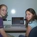 Teens working on movie trailers at Library Sponsored Digital Arts Workshop