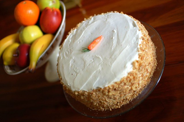 Pineapple Carrot Cake Made With Butter