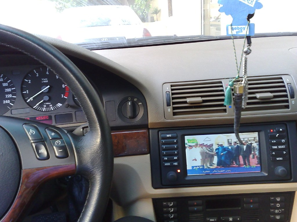 Watching Local Libyan TV In The Car