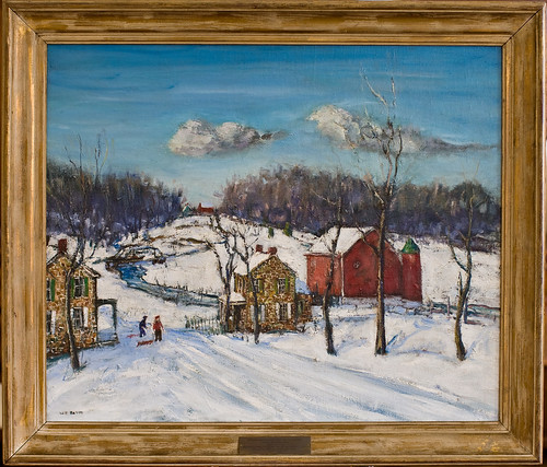 Pennsylvania Dutch Country in Winter (ca. 1920) by Walter E. Baum | by General Federation of Women's Clubs