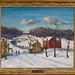 Pennsylvania Dutch Country in Winter (ca. 1920) by Walter E. Baum