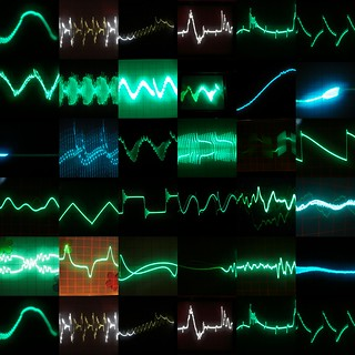 waveforms, precious little waveforms | by altemark