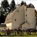 The Palouse - Barn with Wagon Wheel Fence