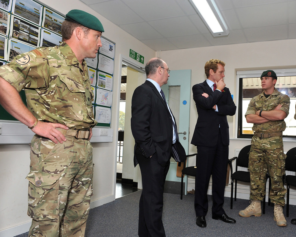 Foreign office ministers visit 40 commando royal marines i flickr - Royal marines recruitment office ...