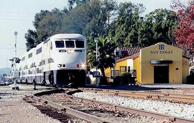 One White Rose MetroLink San Dimas   ...