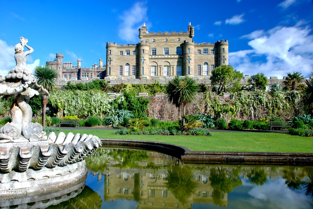 Culzean castle from the fountain courtyard in ayrshire sco for Stay in a haunted castle in scotland