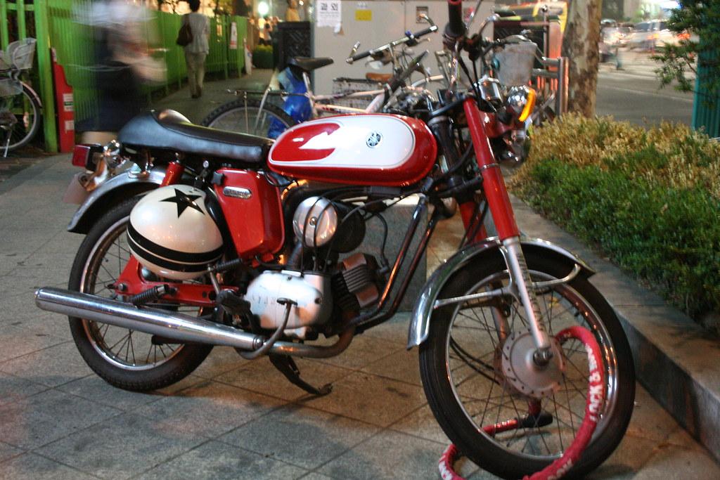 Old School Yamaha Racing Color