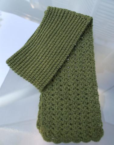 Knitting Pattern For Seaman s Scarf : Seamans Scarf Pattern - Seamans Scarf from Vogue KOTG
