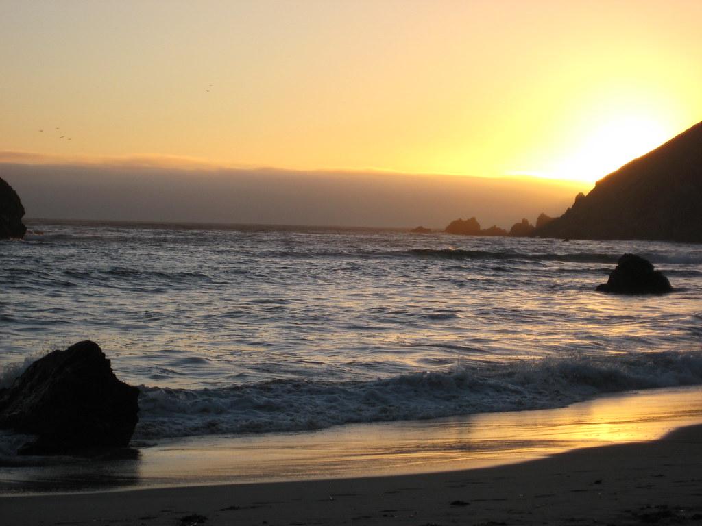 Big Sur Sunset Big Sur Beach Sunset
